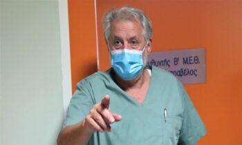 Νέα επίθεση «ειδικού» στην ελευθερία της σκέψης, της άποψης και του υγιούς επιστημονικού διαλόγου, έγινε αυτή τη φορά από τον διευθυντή της B' MEΘ Νοσοκομείου Παπανικολάου, Νίκο Καπραβέλο.