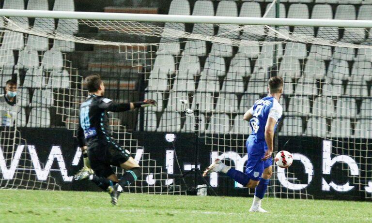 ΠΑΟΚ – ΠΑΣ Γιάννινα: Το γκολ νίκης του Κόντε απ' το απίθανο λάθος του Ζίβκοβιτς (vid)