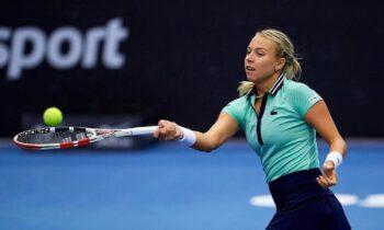 H Ανέτ Κονταβέιτ θα είναι η αντίπαλος της Μαρίας Σάκκαρη στον τελικό του Ostrava Open