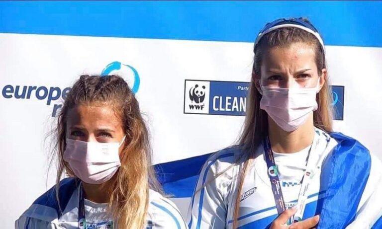 Κωπηλασία: Στην κορυφή της Ευρώπης η ΟΠΑΠ Champion Ευαγγελία Αναστασιάδου και η Ευαγγελία Φράγκου