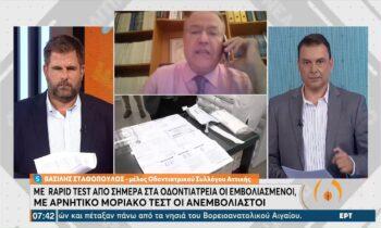 Κορονοϊός – οδοντιατρεία: Ποιοι θα κάνουν μοριακά test και ποιοι rapid test!