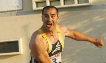 Ένα ακόμα ιερό τέρας του ελληνικού κλασσικού αθλητισμού είναι ο Κώστας Γκατσιούδης