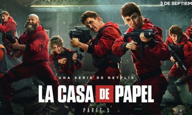 La Casa de Papel: Σαρώνει τα πάντα και στην Ελλάδα – Σταθερά στη κορυφή του Top10 του Netflix
