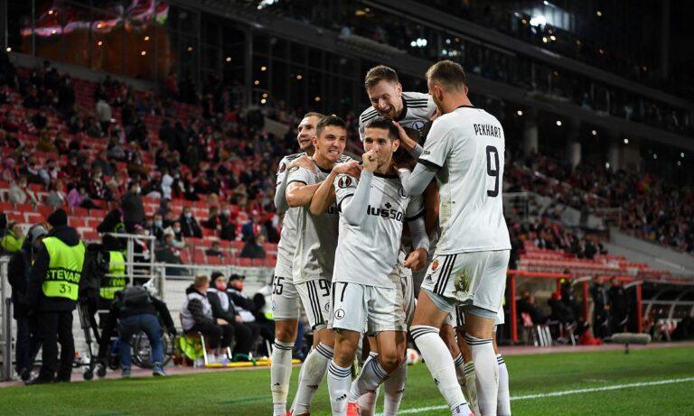Europa League: Απόδραση στο 90+1' από τη Μόσχα για τη Λέγκια (vid)