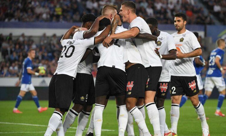 Ligue 1: Ανεβαίνει η Λιλ, 5η σερί ήττα η Σεντ Ετιέν