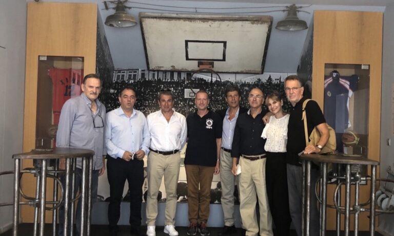 Ο Ανδρέας Λοβέρδος επισκέφθηκε το πρώτο Μουσείο Μπάσκετ της Ελλάδας στη ΧΑΝΘ