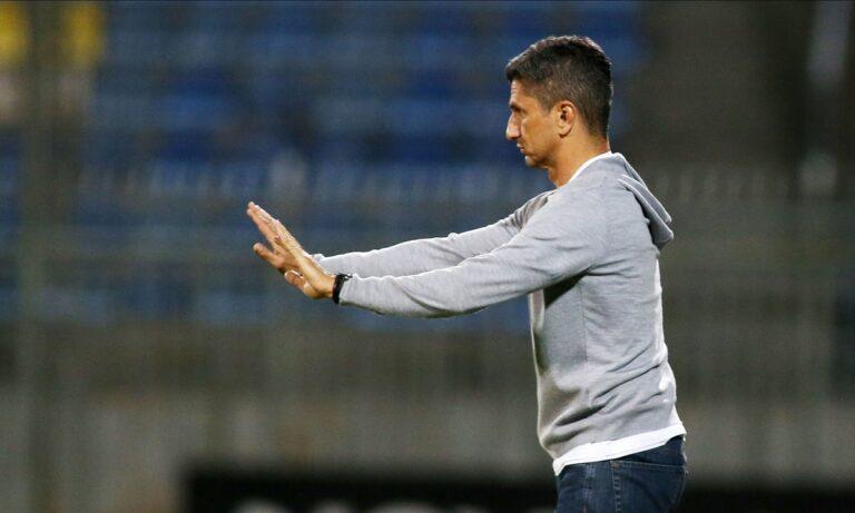 Ο προπονητής του ΠΑΟΚ, Ραζβάν Λουτσέσκου.