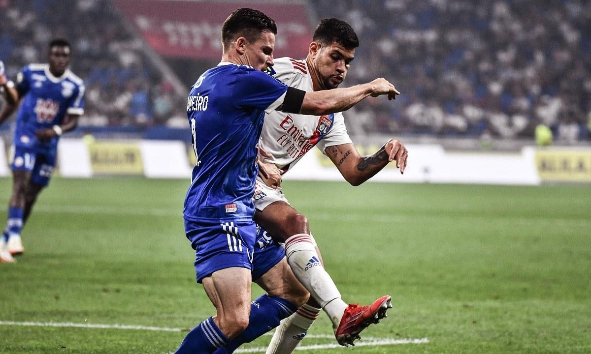 Ligue 1: Εύκολο βράδυ για την Λιόν κόντρα στο Στρασβούργο