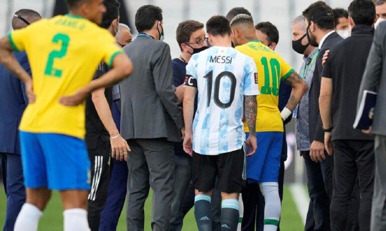 Οριστική διακοπή στο Βραζιλία – Αργεντινή!
