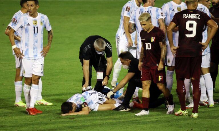 Λιονέλ Μέσι: Το εγκληματικό τάκλιν στο ματς με τη Βενεζουέλα που παραλίγο να του διαλύσει το πόδι!