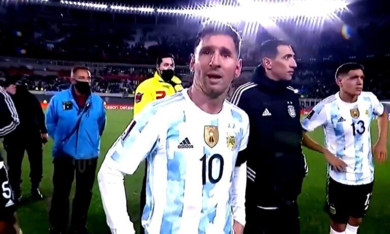 Μέσι: Συγκλονιστική στιγμή – Κλαίει με λυγμούς στη φιέστα για το Copa America (vid)