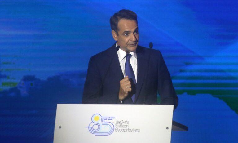 Στο πλαίσιο της ομιλίας του στη ΔΕΘ ο Έλληνας Πρωθυπουργός Κυριάκος Μητσοτάκης μίλησε για το νέο γήπεδο που θέλει να χτίσει η ΠΑΕ Άρης.