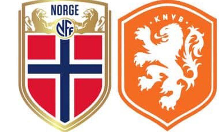 Νορβηγία – Ολλανδία 1-1 (ΤΕΛΙΚΟ)