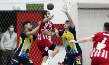 Ο Ολυμπιακός είχε τον έλεγχο σε όλη τη διάρκεια του ματς για τη 2η αγωνιστική της Handball Premier