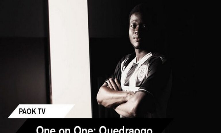 Ουεντραόγκο: «Ευτυχισμένος που είμαι στον ΠΑΟΚ - Αποφασισμένος να κυνηγήσω τους στόχους μου»