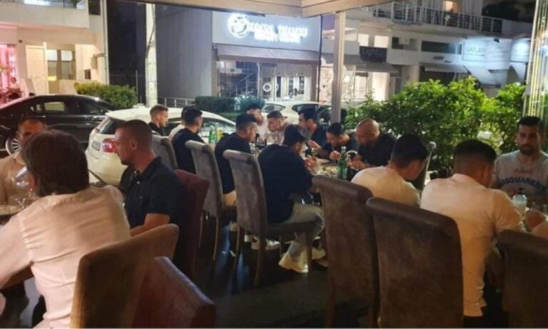 ΑΕΚ: Το δείπνο Μιλόγεβιτς παρουσία Μελισσανίδη (pics)
