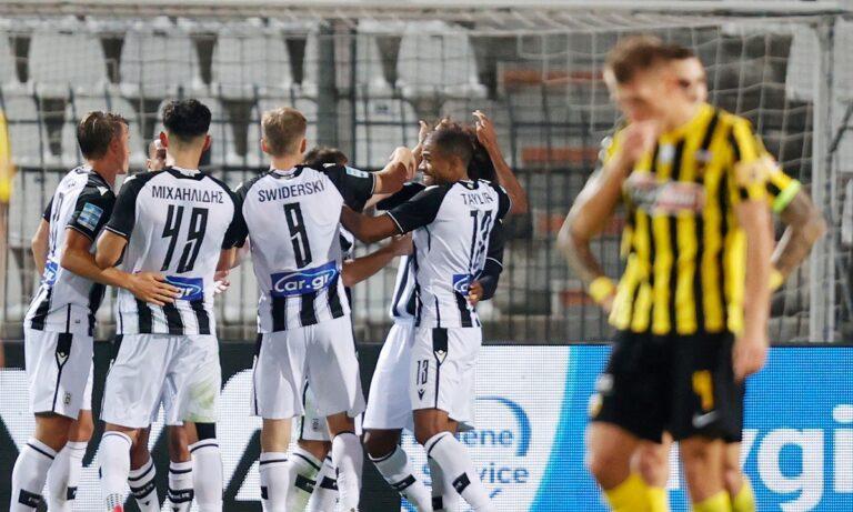 ΠΑΟΚ – ΑΕΚ: Ο Κούρτιτς σκοράρει για το 2-0 με πέναλτι (vid)