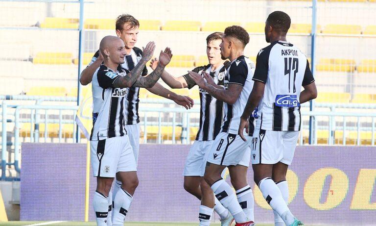 Παναιτωλικός – ΠΑΟΚ: «Σερβίρει» ο Αουγκούστο και σκοράρει ο Μιτρίτσα για το 0-1 (vid)