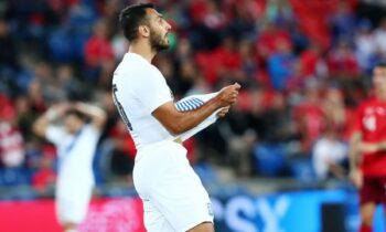 Ελβετία - Ελλάδα: Η ισοφάριση σε 1-1 με τον Παυλίδη (VID)