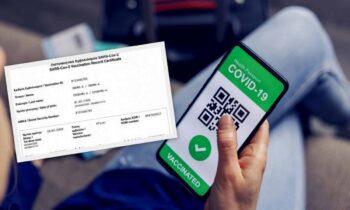 Κορονοϊός: Έτσι πουλάνε τα πλαστά πιστοποιητικά εμβολιασμού - Το κόστος
