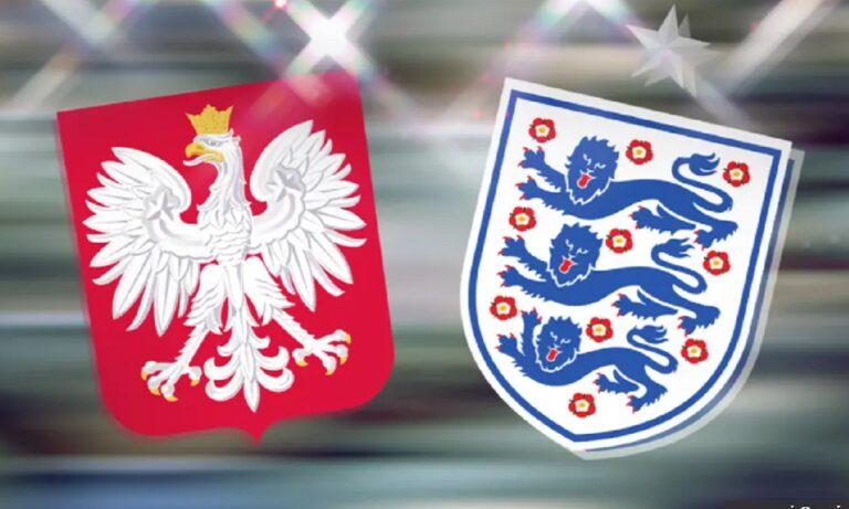 Πολωνία – Αγγλία LIVE