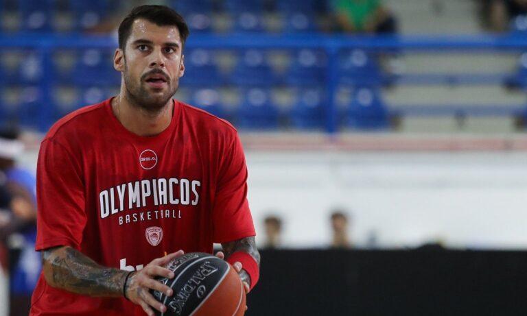 Ολυμπιακός: Αμφίβολος ο Πρίντεζης για το τουρνουά
