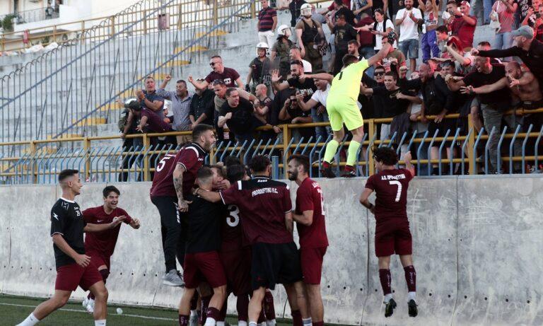 Κύπελλο Ελλάδας – Εθνικός – Προοδευτική: Ματσάρα και πρόκριση στα πέναλτι για τον «Φοίνικα»! (vid)