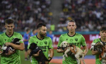 Ρουμανία: Πολλά συγχαρητήρια αξίζουν στους ποδοσφαιριστές για την πρωτοβουλία τους.