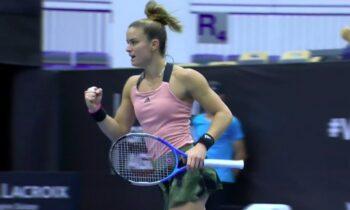 Μαρία Σάκκαρη: Νίκη με 2-0 σετ επί της Οσταπένκο - Στα προημιτελικά του Ostrava Open