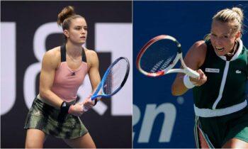 Η Μαρία Σάκκαρη διεκδικεί τον τίτλο στο Ostrava Open απέναντι στην Ανέτ Κονταβέιτ.