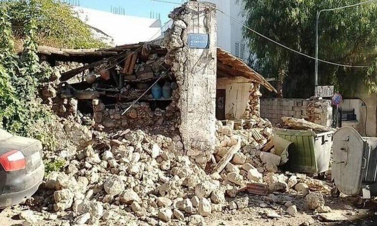 Σεισμός – Κρήτη: Τρεις εγκλωβισμένοι από την ισχυρή δόνηση σε Αρκαλοχώρι και Πατσίδερο