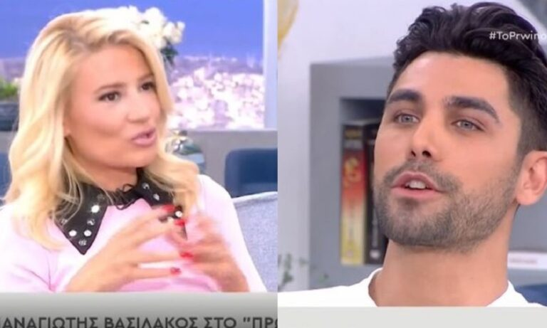 Φαίη Σκορδά: Ξέσπασε στον Bachelor Παναγιώτη Βασιλάκο: «Ήρθες για να δουλευόμαστε»!