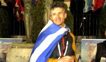 Ο Φώτης Ζησιμόπουλος ήταν ο νικητής του φετινού 39ου Σπάρταθλον καλύπτοντας την απόσταση της ιστορικής διαδρομής Αθήνας- Σπάρτης σε 21:57.20.