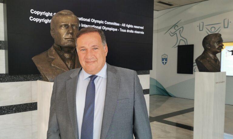 Σπύρος Καπράλος: Επανεξελέγη Πρόεδρος της ΕΟΕ για τέταρτη θητεία