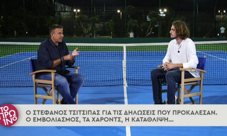 Στέφανος Τσιτσιπάς: Αποστόμωσε τους πάντες για τα εμβόλια, την πολιτική και τα toilet breaks – Ένα άξιο πρότυπο για τους νέους!