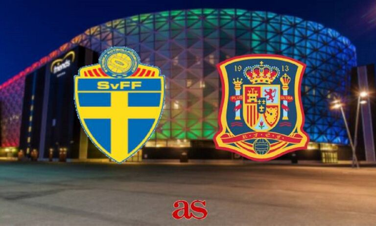 Σουηδία – Ισπανία LIVE