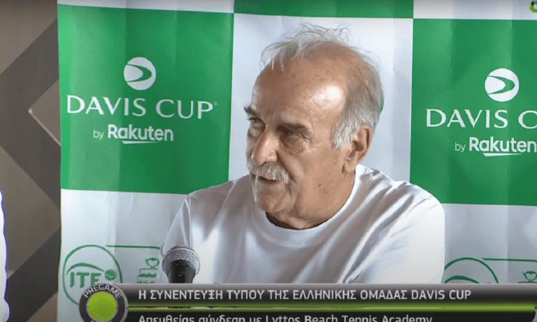 Davis Cup – Ζαννιάς: «Κεντροβαρικής σημασίας η Κρήτη – Πάντα στόχος η περιφερειακή ανάπτυξη»