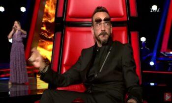 Από τα πρώτα δευτερόλεπτα ο Πάνος Μουζουράκης έμεινε έκπληκτος στο επεισόδιο του «The Voice»