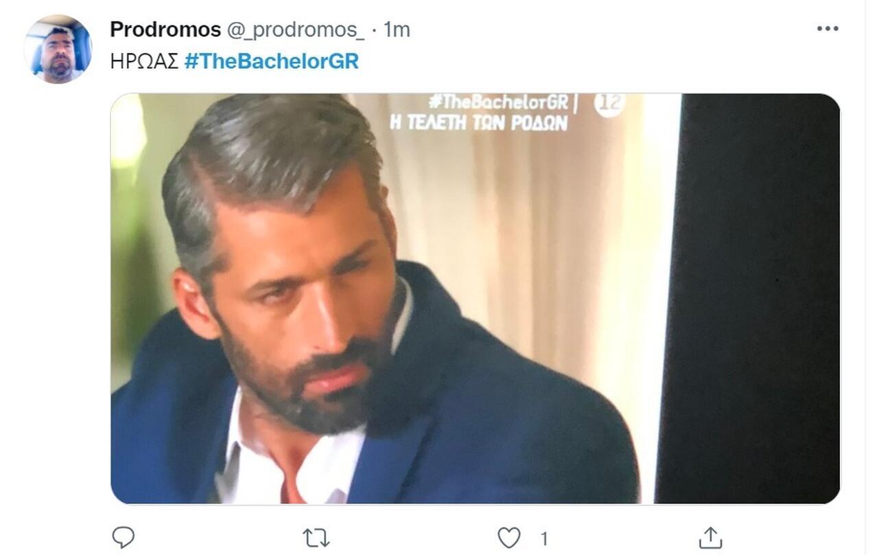 The Bachelor 2 Αλέξης Παππάς - Twitter