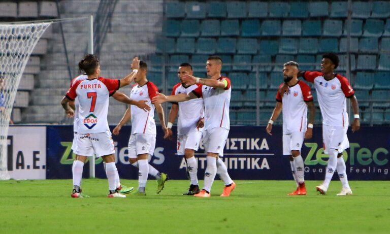 Βόλος – Νίκη Βόλου 2-0: Με «υπογραφή» Μπαρτόλο και Νίνη (vid)