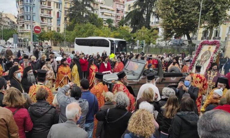Η Θεσσαλονίκη τίμησε τον Άγιο Δημήτριο όπως του άξιζε, σε πείσμα της αντιχριστιανικής προπαγάνδας!