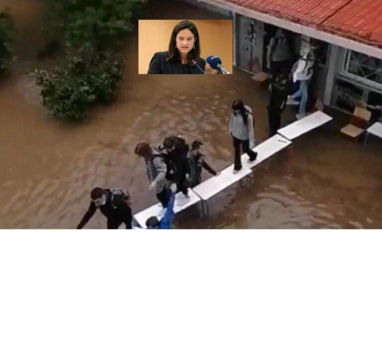 Κάντε μια αξιολόγηση σε ναυαγοσώστες κυρία Κεραμέως (Vid)