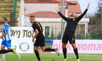 Την πρόκριση στη φάση των «16» του Κυπέλλου Ελλάδας πήρε η Αναγέννηση Καρδίτσας, με 5-4 στα πέναλτι της Καλλιθέας (κ.α. 0-0).