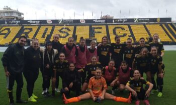 Άρης: Η ομάδα Γυναικών στο ποδόσφαιρο