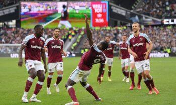 Ένα ακόμη γκολ του στην Premier League πανηγυρίζει ο Αντόνιο