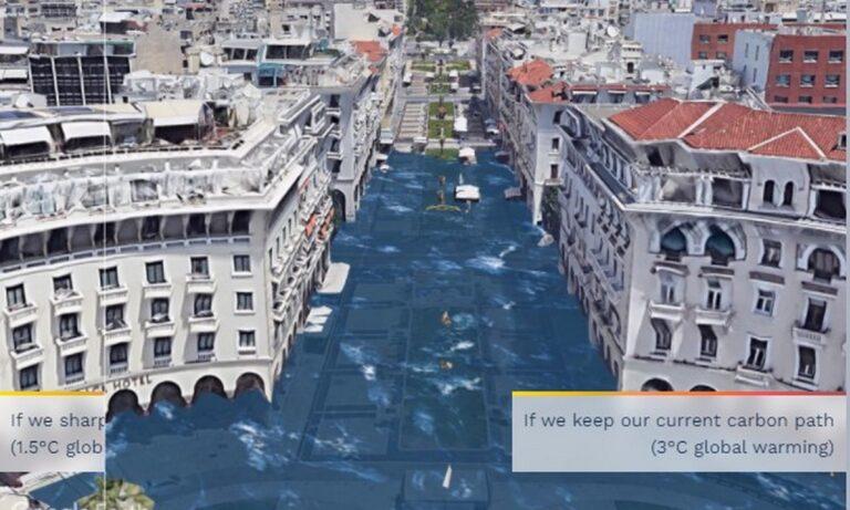 «Πλημμύρισαν» Αθήνα και Θεσσαλονίκη – Εικόνες σοκ από το μέλλον