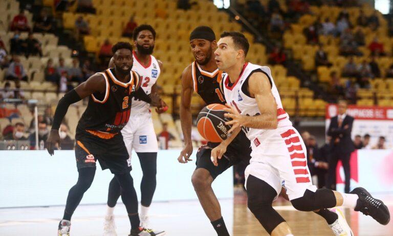 Basket League (Βαθμολογία): Μόνος πρώτος και αήττητος ο Ολυμπιακός
