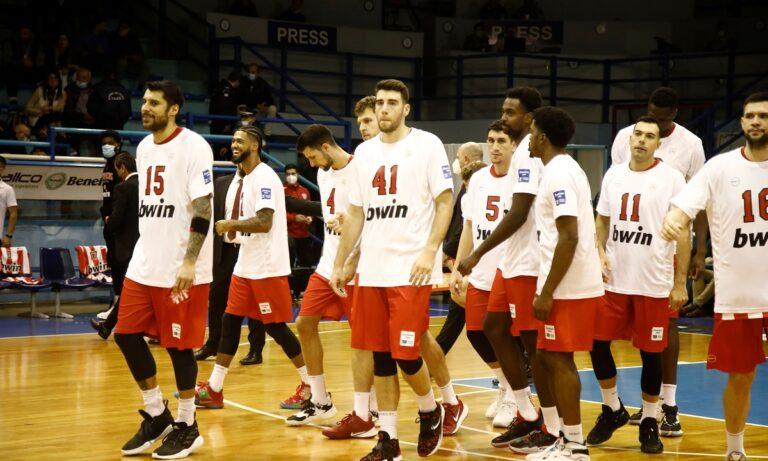 Basket League: Παραμένει πρώτος και αήττητος ο Ολυμπιακός