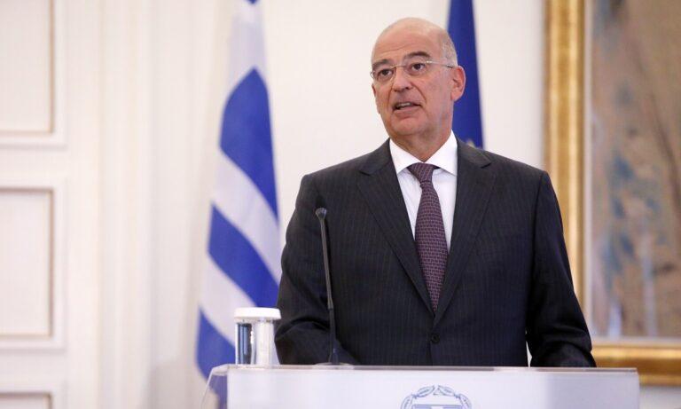 Ο Δένδιας τσάκισε την Τουρκία στην Ε.Ε: «Νεοθωμανικό φάντασμα που απειλεί την Ελλάδα»