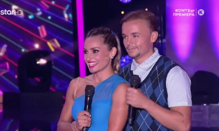 Dancing With the Stars: Η Μιλλούση χόρευε και ο Πετρούνιας αποθέωνε!